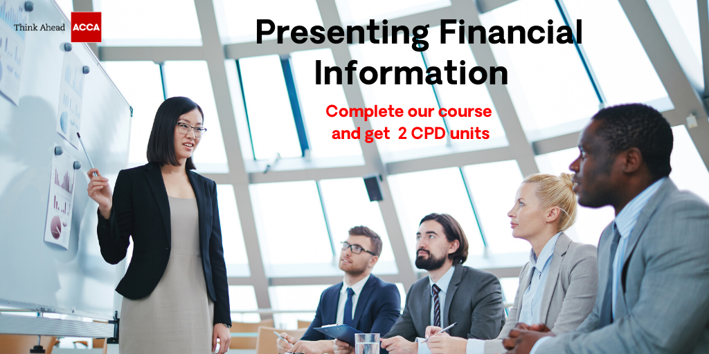 Presenting Financial Information course